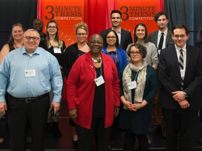 Photo for the news post: Meet the Winners of Carleton's Three Minute Thesis Competition