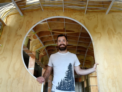 Photo for the news post: Grad Research: Tiny House, Big Style