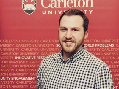 Photo for the news post: Carleton Grad Student Wins an NSERC Science Action Award