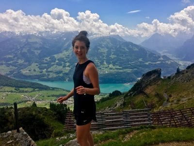 Photo for the news post: Swiss Bliss: Grad Student Wins Think Swiss Scholarship