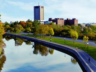 Photo for the news post: Thinking Grad School? Think Carleton!