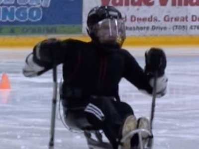 Photo for the news post: Ottawa Citizen: Grad Student Researching the Science of Sledge Hockey