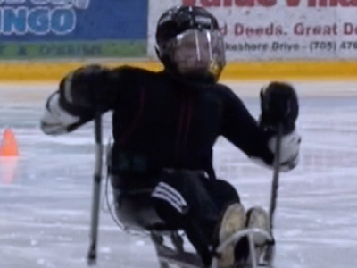 Photo for the news post: Grad Research Could Benefit Canada's Sledge Hockey Team