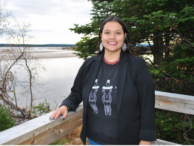 Photo for the news post: Convocation: Inuk Social Work Grad Travels Far for Degree