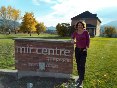 Photo for the news post: Convocation Story: Treemendous Grad Research on Community Orchards