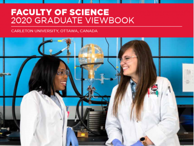 Photo for the news post: 2020 Graduate Student Program Viewbooks