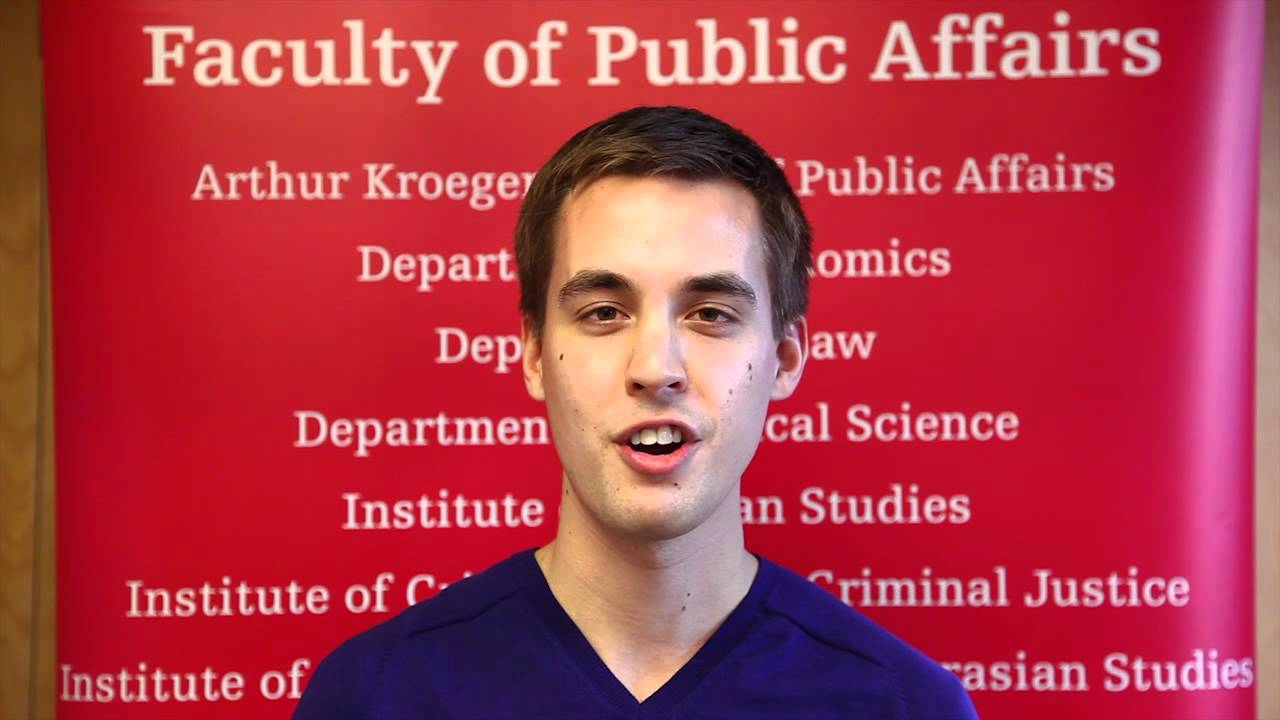 Thumbnail for: Colin Mcleod at the Faculty of Public Affairs tells you why he chose Carleton University