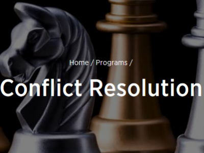Photo for the news post: GDip in Conflict Resolution Adds Competitive Edge