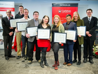 Photo for the news post: Seven Faculty Honoured With Faculty Grad Mentoring Awards