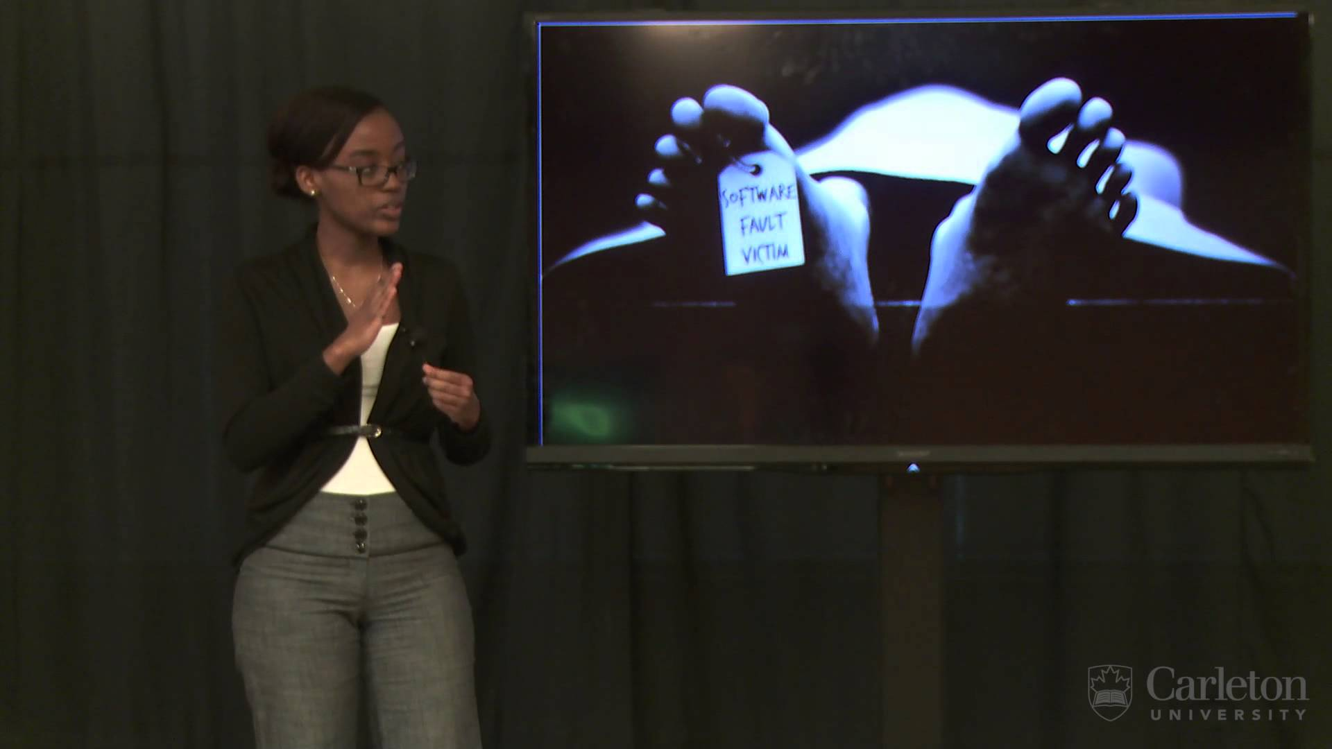 Thumbnail for: Top Ten Carleton 3MT Finalist Daniella Niyonkuru